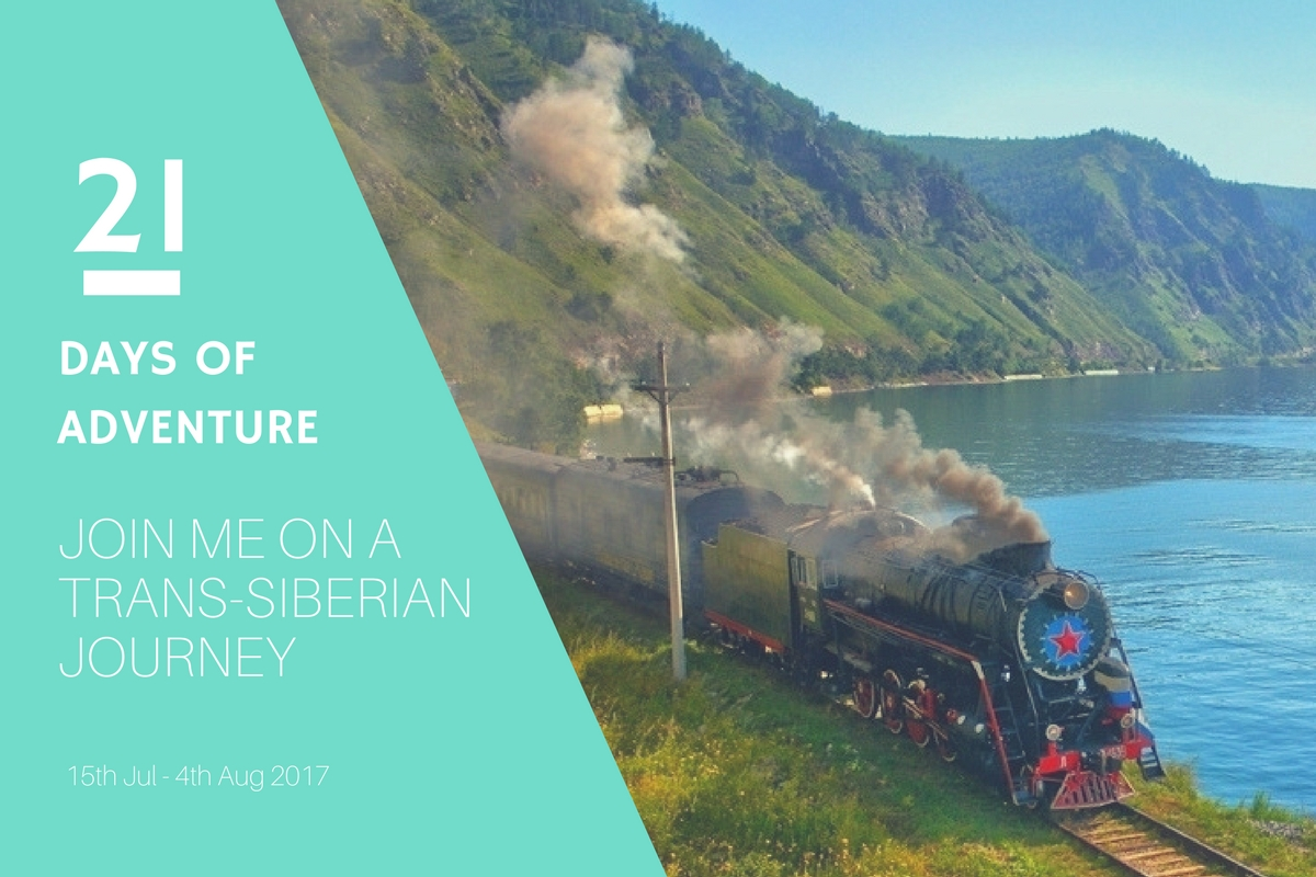 Trans-siberian journey A Girl who tracvels