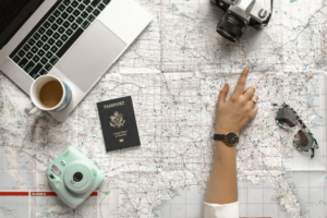 Four step solo travel plan