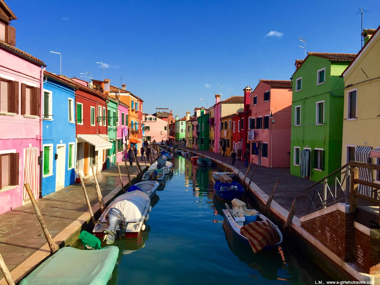 Colour Therapy in Burano
