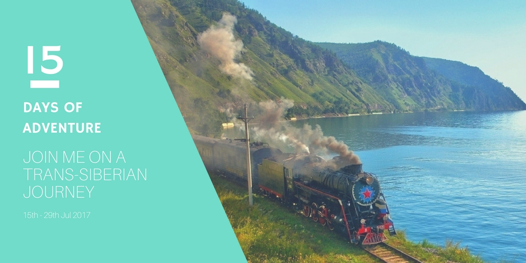 Join me on the most unique Trans-Siberian adventure yet!